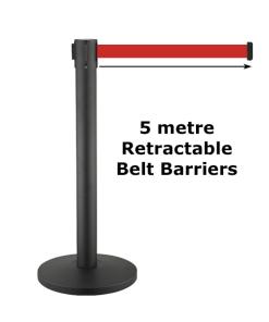 5m Belt Barriers